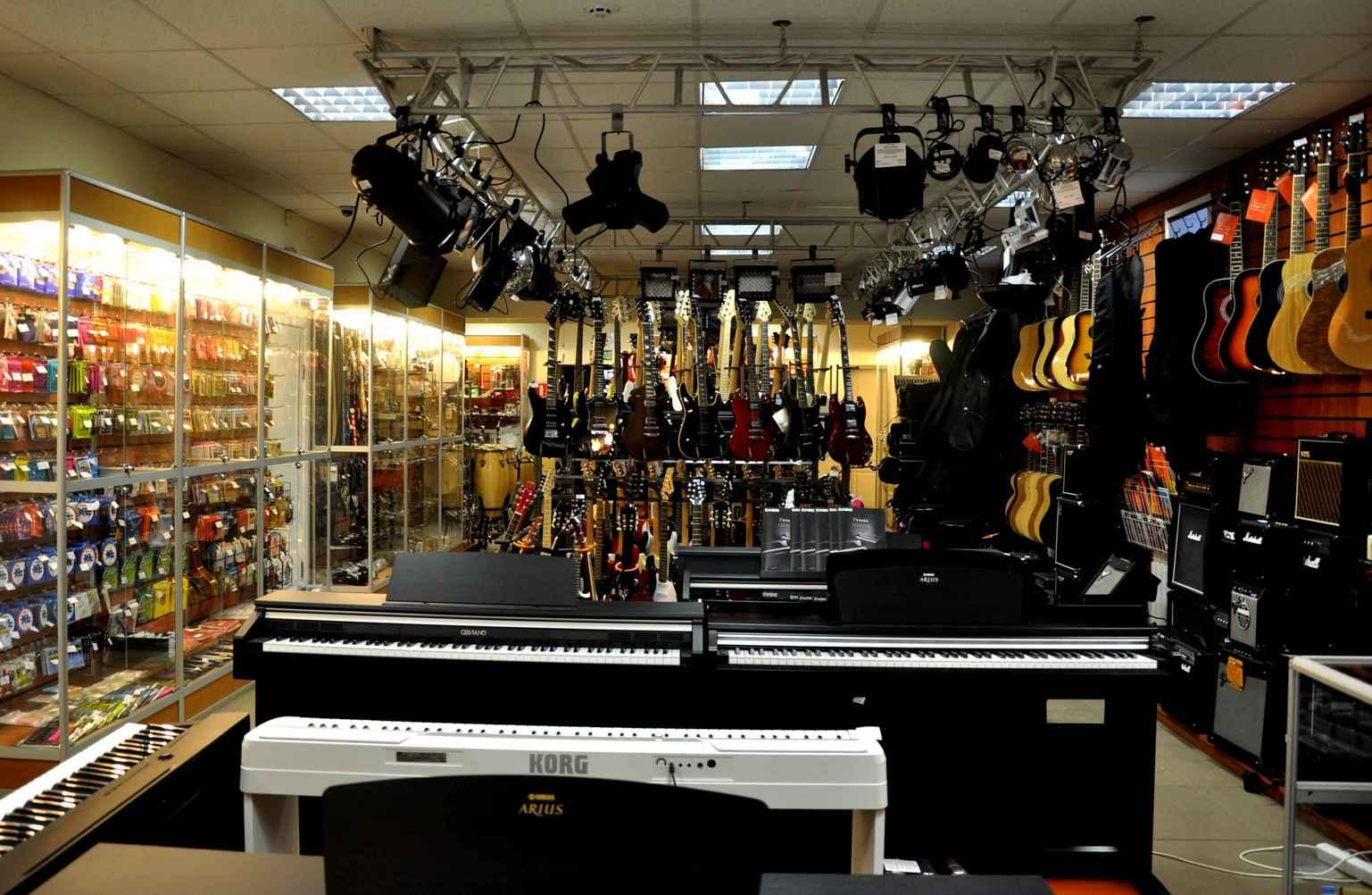 музыкальный магазин в одинцово прижима пластиковых окон